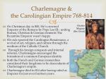 charlemagne the carolingian empire 768 814