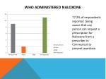 who administered naloxone