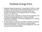 peabody energy intro