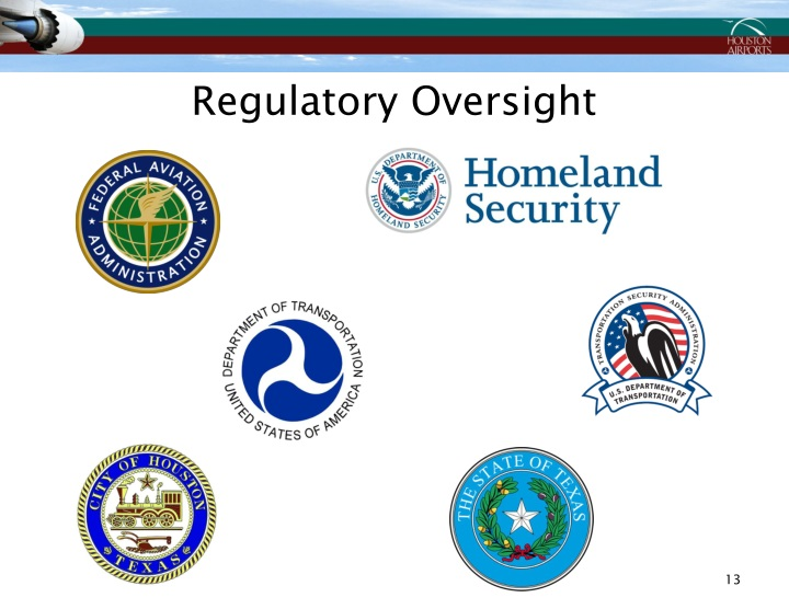 Regulatory Oversight