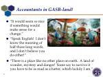 accountants in gasb land