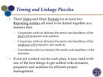 timing and linkage puzzles1