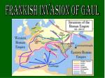 frankish invasion of gaul