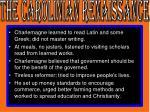 the carolinian renaissance