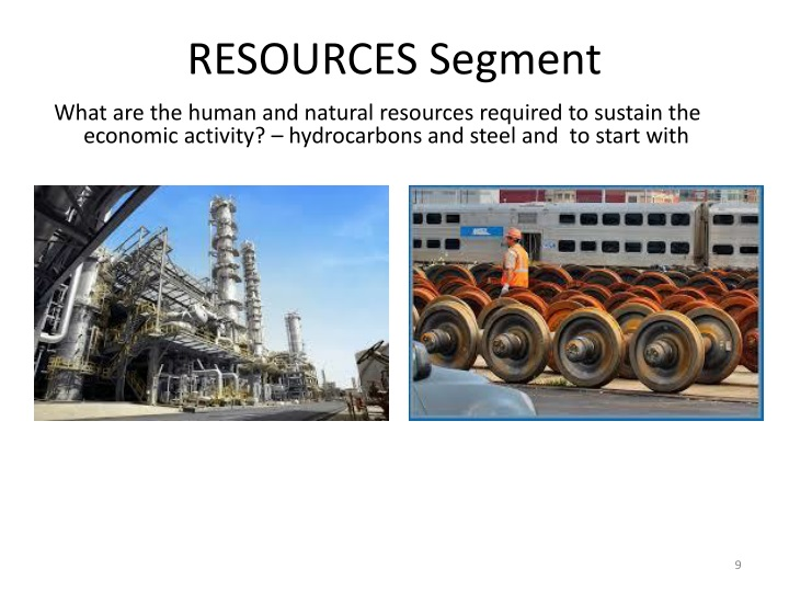RESOURCES Segment