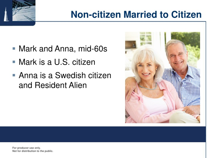 Non-citizen Married to Citizen