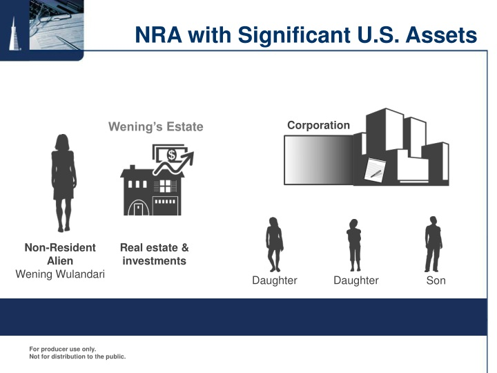 NRA with Significant U.S. Assets
