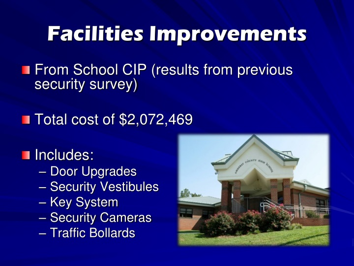 Facilities Improvements