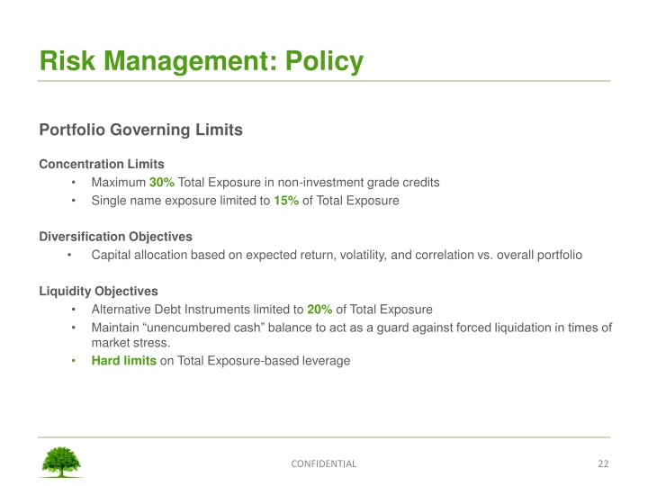 Risk Management: Policy
