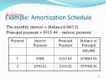 example amortization schedule1