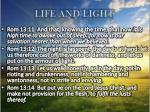 life and light