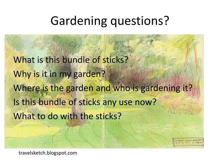 Gardening questions?