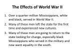 the effects of world war ii