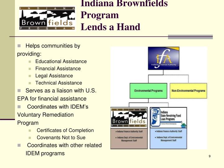 Indiana Brownfields Program