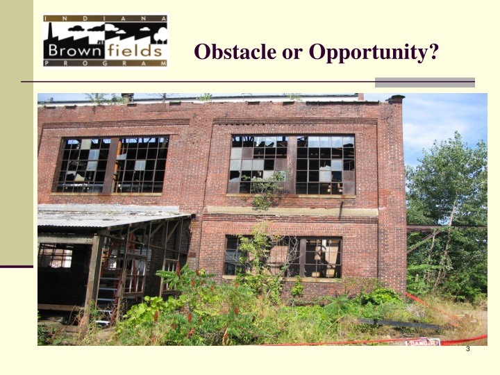 Obstacle or opportunity