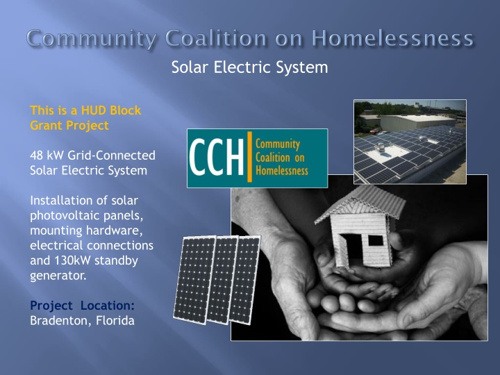 Community Coalition on Homelessness