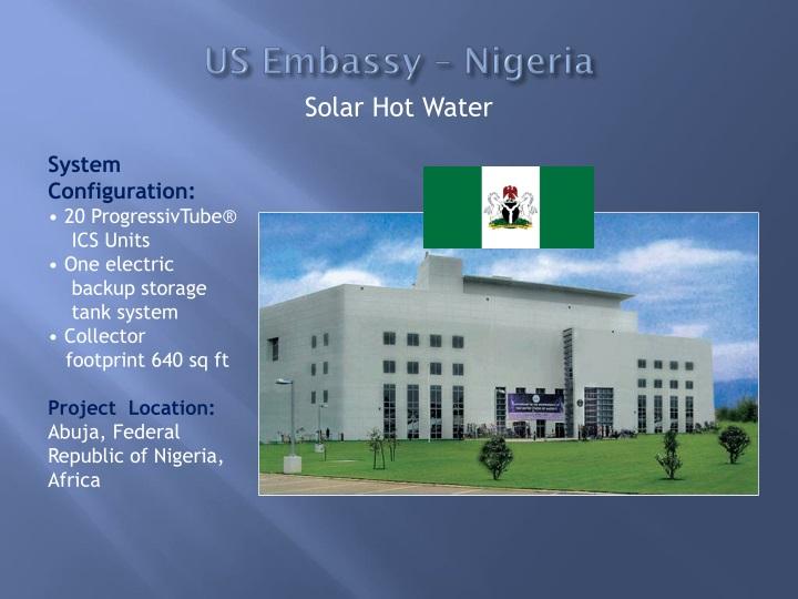 US Embassy – Nigeria