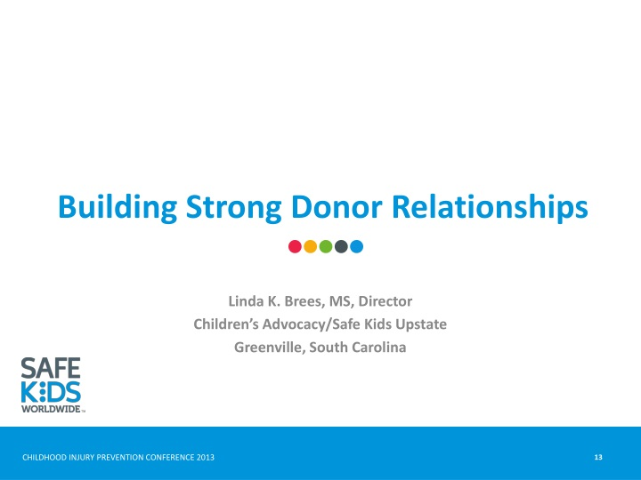 Building Strong Donor Relationships