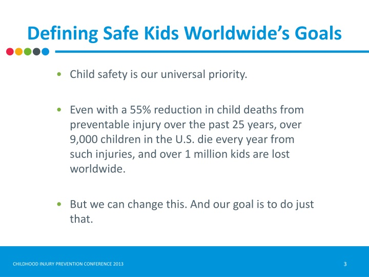 Defining Safe Kids Worldwide's Goals