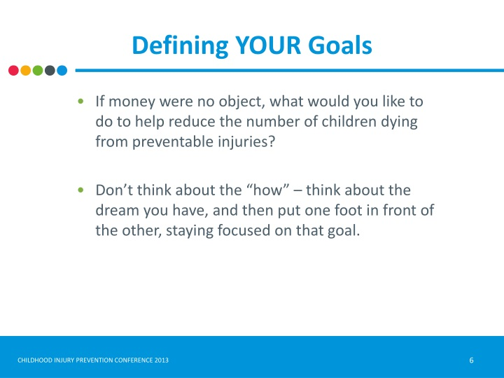 Defining YOUR Goals