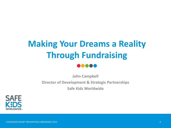 Making Your Dreams a Reality Through Fundraising
