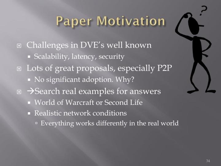 Paper Motivation