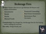 brokerage firm