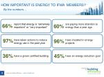 how important is energy to ifma members