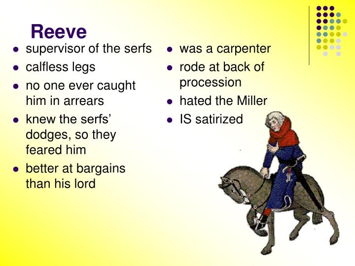 supervisor of the serfs