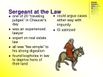 sergeant at the law
