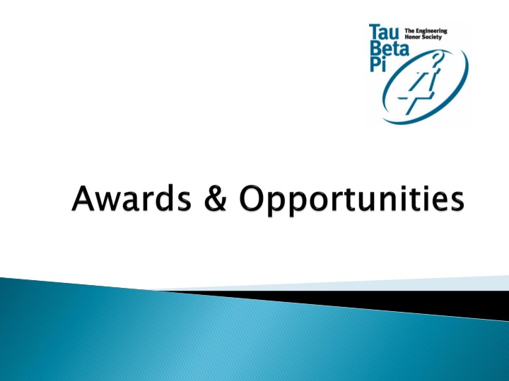 Awards opportunities