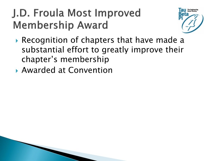 J.D. Froula Most Improved