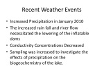 recent weather events