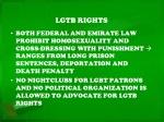 lgtb rights