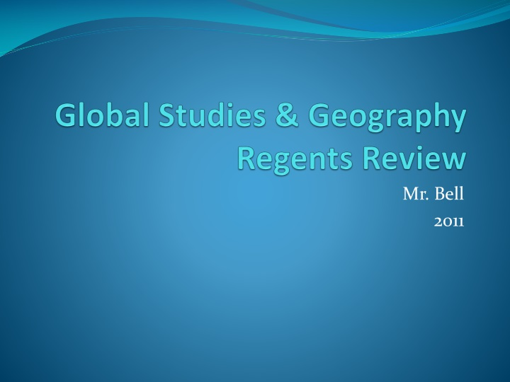Global studies geography regents review