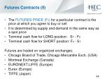 futures contracts ii