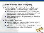 clallam county cash receipting3