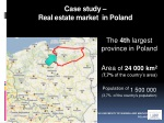 case study real estate market in poland
