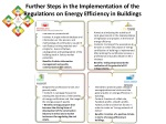 further steps in the implementation of the regulations on energy efficiency in buildings