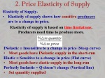2 price elasticity of supply