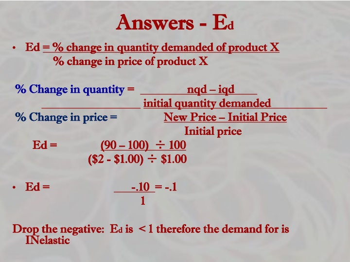 Answers - E