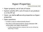 hyper properties
