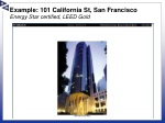 example 101 california st san francisco energy star certified leed gold