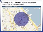 example 101 california st san francisco energy star certified leed gold1