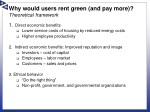 why would users rent green and pay more theoretical framework