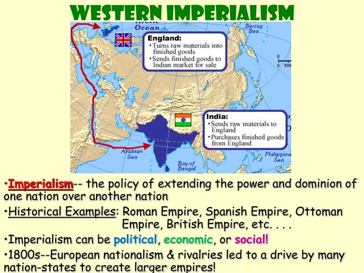 imperialism africa and asia Imperialism in africa and south asia 1 imperialism in africa 2 imperialism don't write •imperialism - extending a nation's power over other lands.