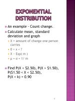 exponential distribution1
