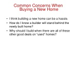 common concerns when buying a new home