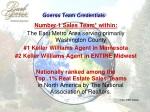 goerss team credentials