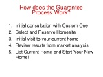 how does the guarantee process work
